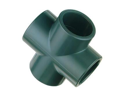 Astore croix FFFF 32mm PVC vert