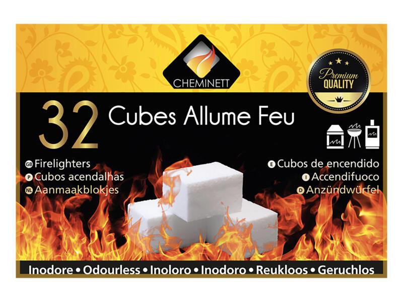 Forever cubes allume-feu premium 32 pièces