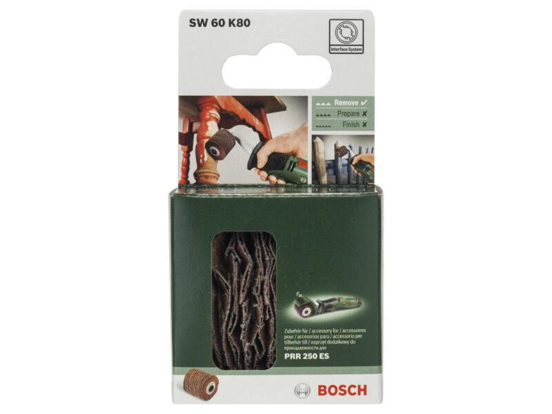Bosch cylindre abrasif souple pour PRR 250 ES G80 60mm