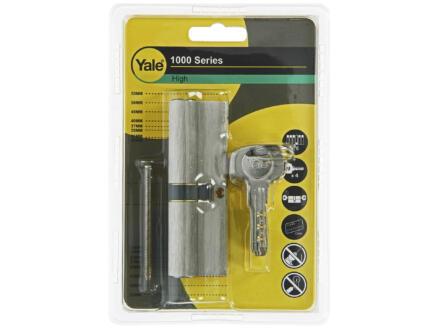 Yale cylindre de porte profilé 1000 45/50 95mm
