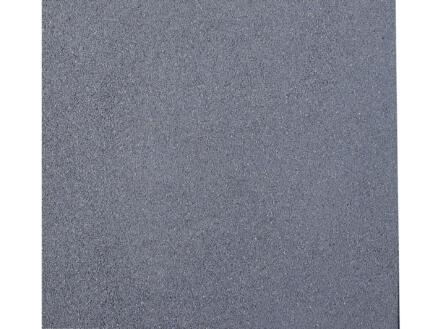 Gardenas dalle 100x100x2,5 cm 1m² caoutchouc gris