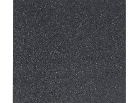 Gardenas dalle 50x50x2,5 cm 0,25m² caoutchouc noir