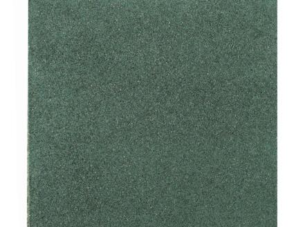 Gardenas dalle 50x50x2,5 cm 0,25m² caoutchouc vert