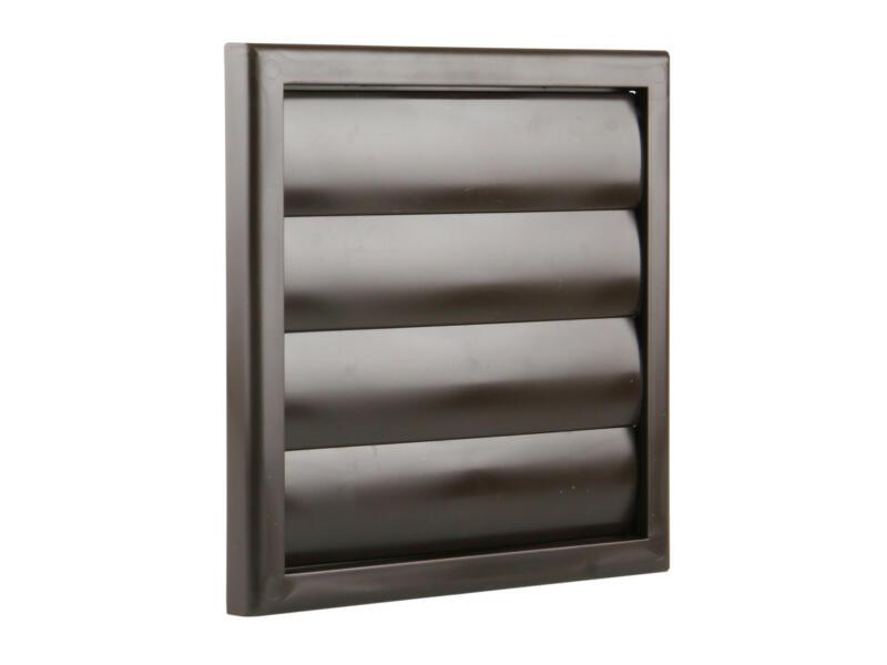 Renson dampkaprooster 187x187 mm PVC bruin