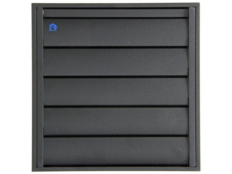 Renson dampkaprooster 210x210 mm aluminium zwart