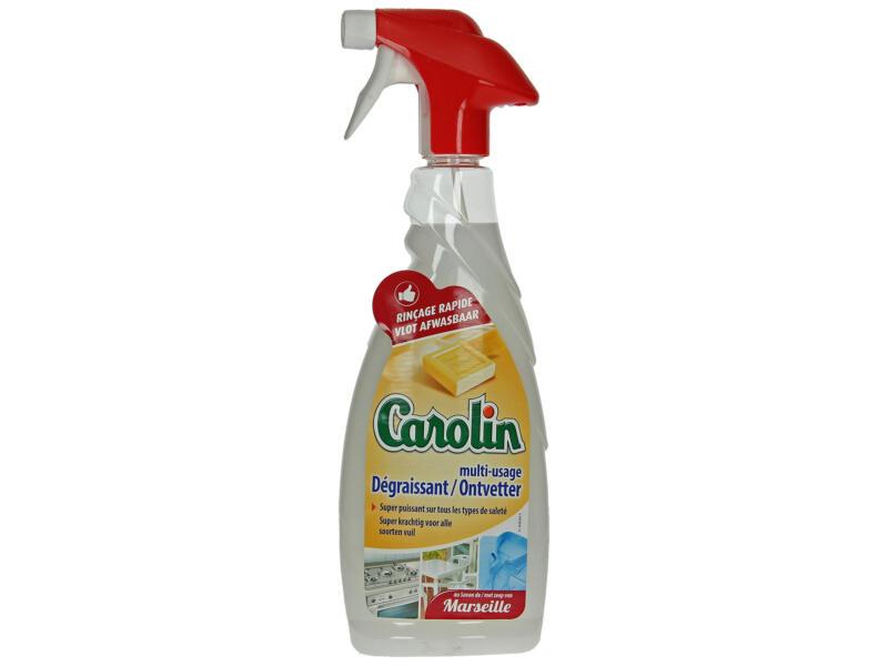 Carolin dégraissant savon de Marseille 650ml
