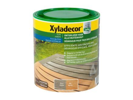 Xyladecor dégriseur bois 1l transparent