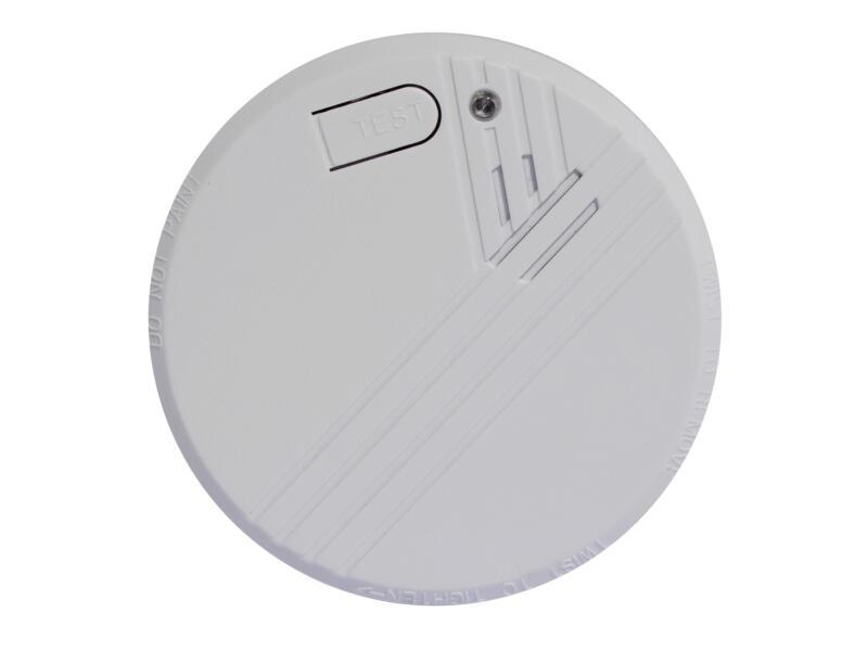 Chacon détecteur de fumée optique 9V pile lithium 10 ans