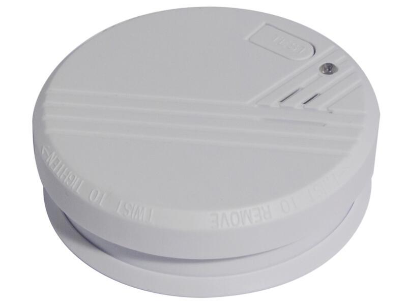 Chacon détecteur de fumée optique pile alcaline 9V 1 ans