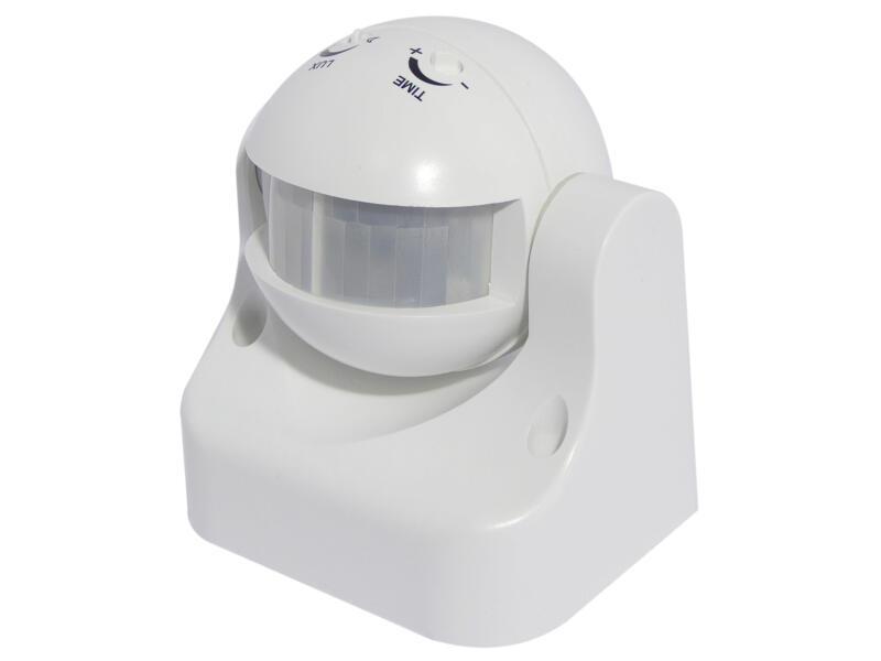 Chacon détecteur de mouvement 180° blanc