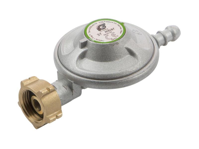 Practo Garden détendeur gaz 37mbar + tuyau et 2 rondelles propane