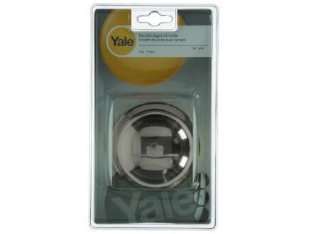 Yale deurbol rond op rozet 71mm mat vernikkeld