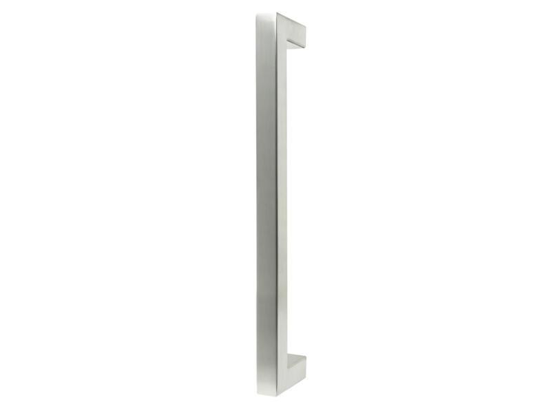 Solid deurgreep recht 32cm inox