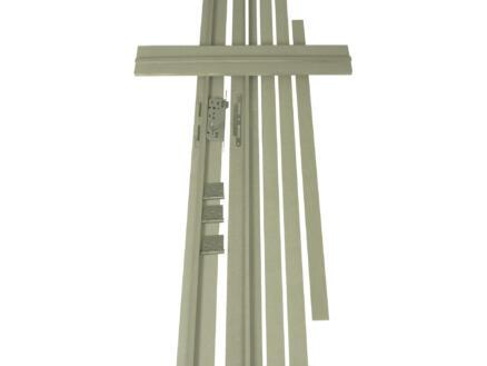 Solid deurkast MDF waterwerend 202,2x20 cm