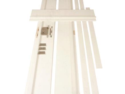Solid deurkast multiplex 202,2x25 cm voorgeverfd