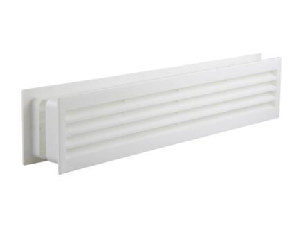Renson deurrooster 450x90 mm PVC wit