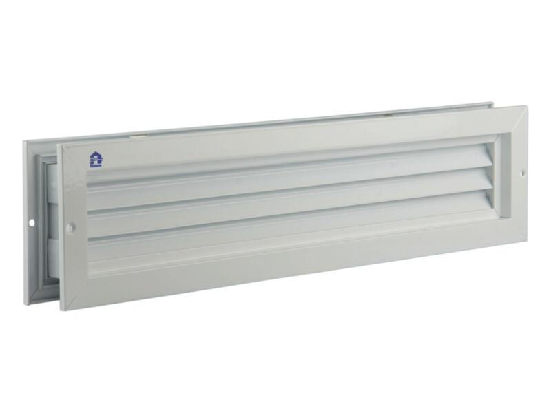 Renson deurrooster 76x425 mm aluminium wit