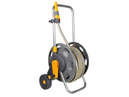 Hozelock dévidoir sur roues avec tuyau d'arrosage 30m