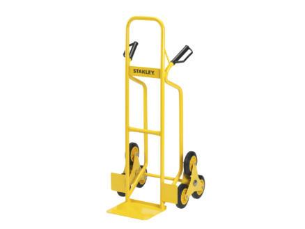 Stanley diable escalier pliant 200kg 2x3 roues