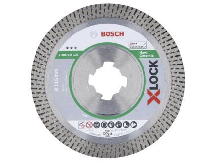 Bosch Professional diamantschijf hard keramiek X-lock 115x22,23x1,4 mm
