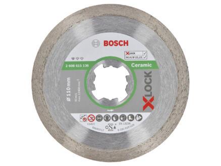 Bosch Professional diamantschijf keramiek X-Lock 110x22,23x1,6 mm