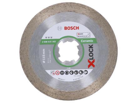 Bosch Professional diamantschijf keramiek X-lock 115x22,23x1,6 mm