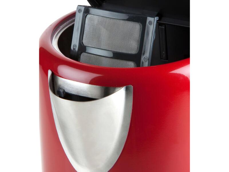 Domo digitale waterkoker 1,7l rood