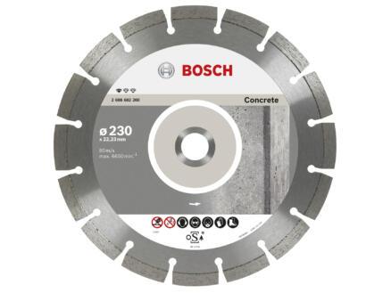 Bosch Professional disque à tronçonner diamanté béton 230x2,3x22,23x10 mm