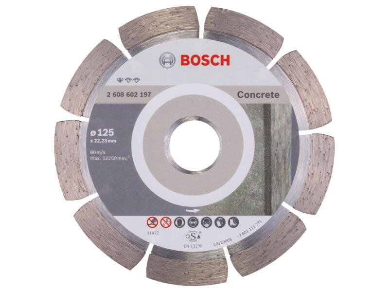 Bosch Professional disque diamant béton 125x1,6x22,23x10 mm