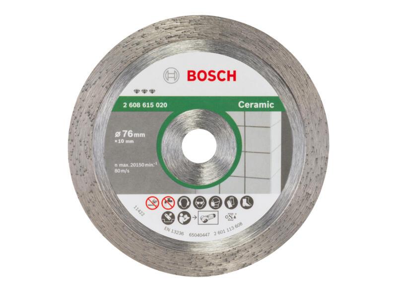 Bosch disque diamant céramique 76x1,9x10 mm