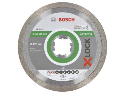 Bosch Professional disque diamant céramique X-lock 125x22,23x1,6 mm