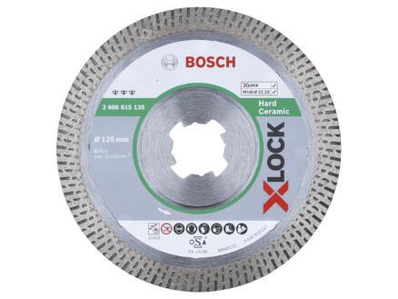 Bosch Professional disque diamant céramique dur X-lock 125x22,23x1,4 mm