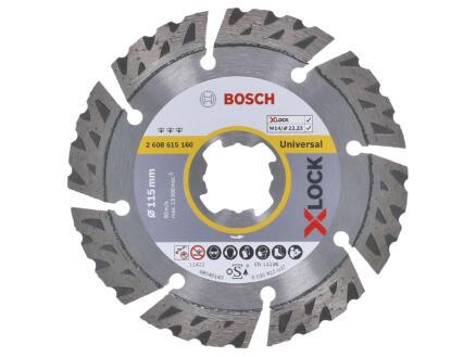 Bosch Professional disque diamant universel X-lock 115x22,23x2,4 mm