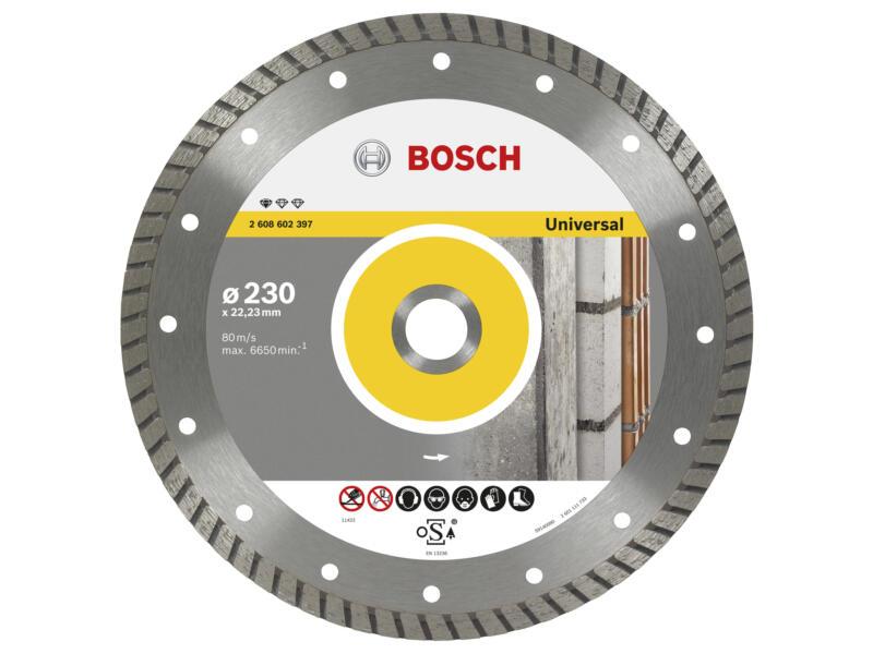 Bosch Professional disque diamant universel construction 230x2,5x22,23x10 mm