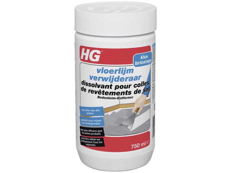 HG dissolvant colles de revêtements de sol 750ml