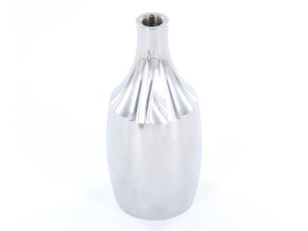 Chacon douille E27 conique gris argent