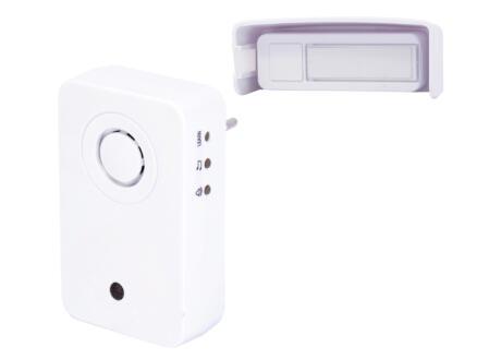 Chacon draadloze deurbel + 1 drukknop