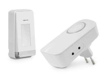 Avidsen draadloze inplugbare deurbel met batterijloze knop