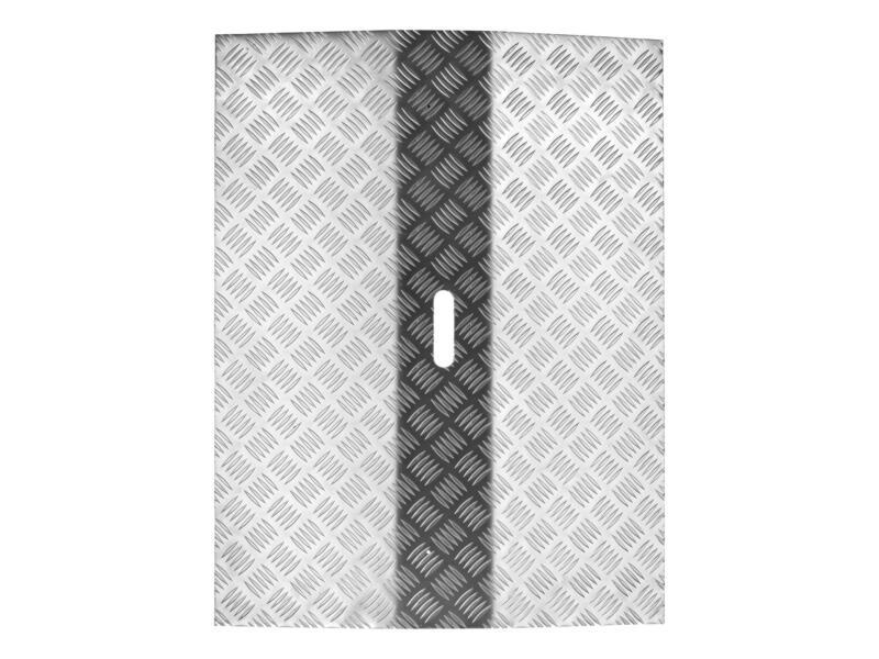 Secucare drempelbrug type 3 hoogte verstelbaar 0-60 mm 78x61 cm aluminium