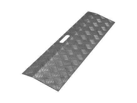 Secucare drempelhulp type 1 hoogte verstelbaar 0-30 mm 78x20 cm aluminium