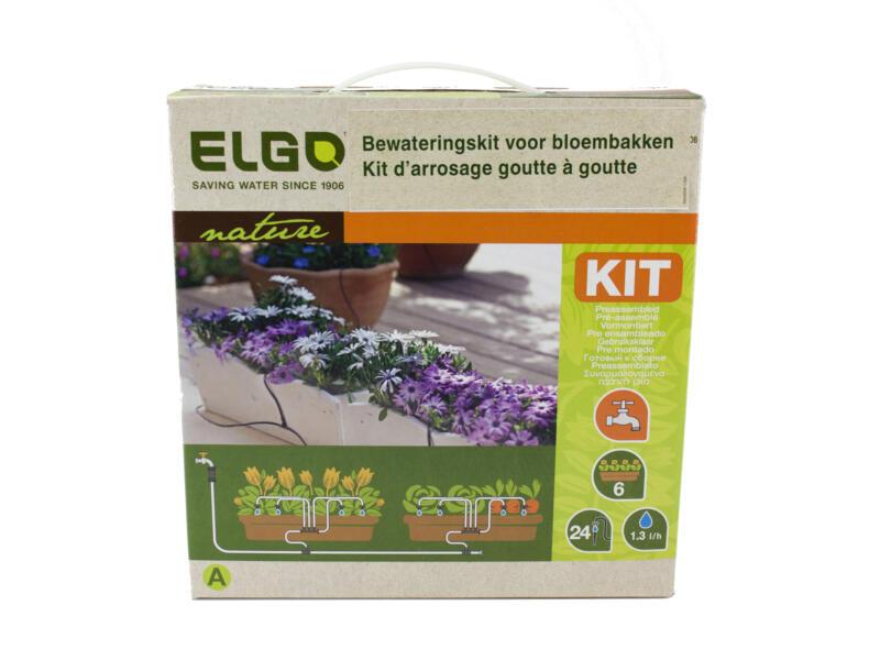Elgo druppelsysteem voor bloembakken 24 druppelaars