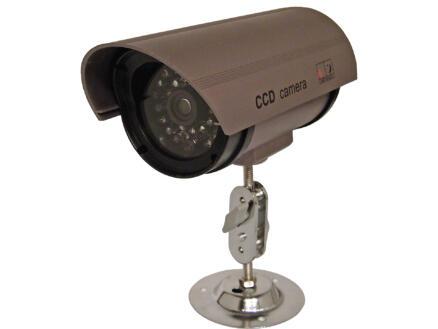 Chacon dummy camera met LED bruin