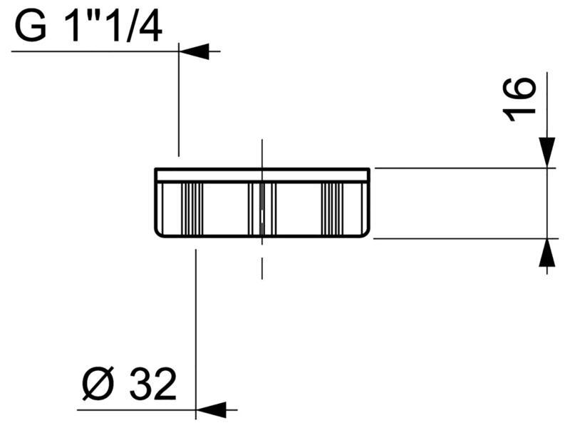 Wirquin écrou siphon 32mm
