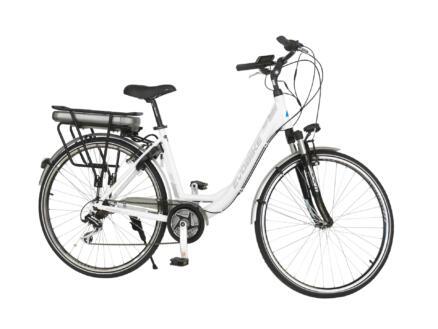 Evobike elektrische damesfiets middenmotor wit