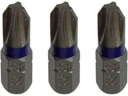 Mack embout PH3 25mm 3 pièces
