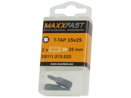 Maxxfast embout T-TAP15 2 pièces