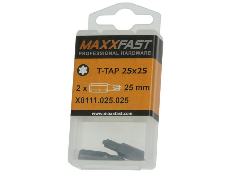 Maxxfast embout T-TAP25 2 pièces