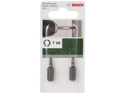 Bosch embout Torx TX10 2 pièces