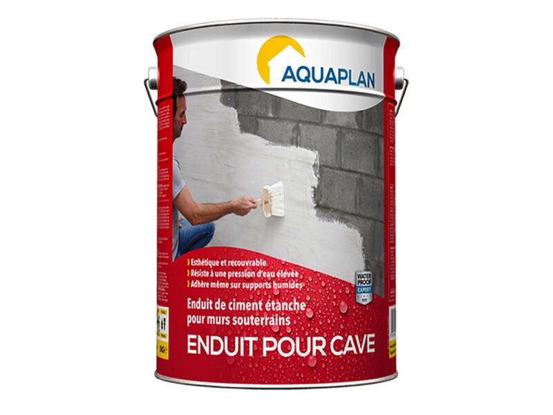 Aquaplan enduit pour cave 5kg blanc