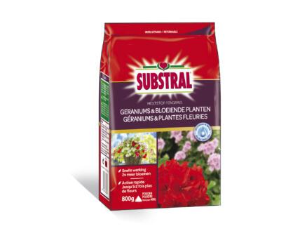 Substral engrais géraniums & plantes fleuries 800g